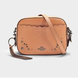 Coach Camera Bag w/ Prairie Rivets *NEW